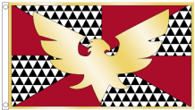 Feather Pride Drag Phoenix 5'x3' Flag